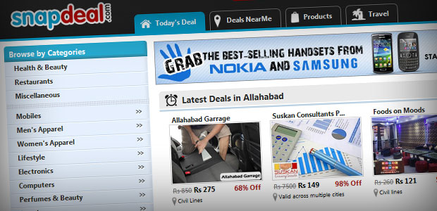 Snapdeal Screenshot