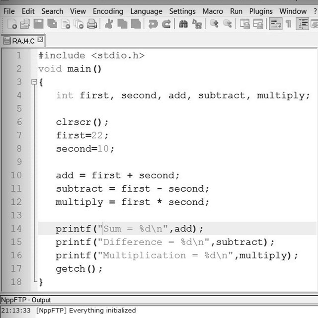 Calculate area of circle in c programming youtube.