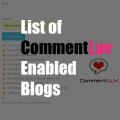 List of 50 CommentLuv Enabled Blogs