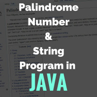 Palindrome-Number-String-Program-in-java