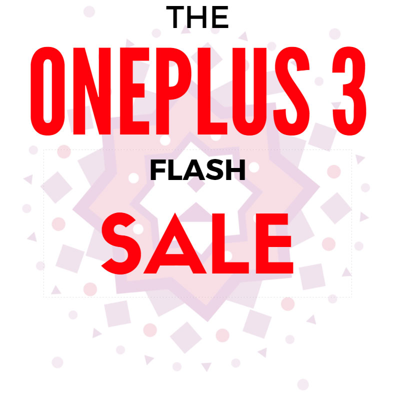 OnePlus Diwali Sale: Get OnePlus 3 for Rs.1